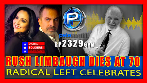 EP 2329-6PM Radio Legend Rush Limbaugh Dies at 70 -- Golden Microphone Goes Silent