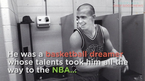 Former NBA Player Goes From Addict to Inspiration