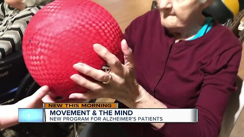 New exercise program hopes to benefit Alzheimer's patients