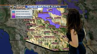 Cooler weather expected for Sunday - Video
