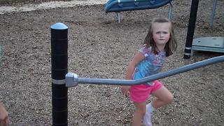 """""""Young Girl Is Not Happy After Her Playground Fail"""""""