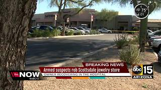 Scottsdale police searching for armed robbers - Video