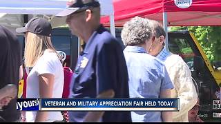 Appreciation Fair held for Veterans and Military