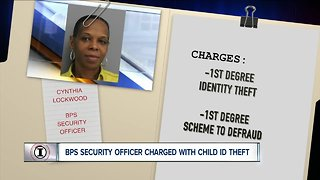Security officer for Buffalo Public Schools charged with child id theft