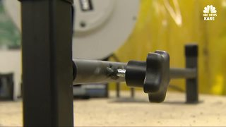 A WI student invents a door protection tool - Video