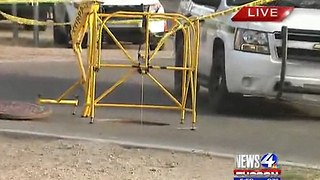 Arizona Man Found Electrocuted Inside Manhole - Video