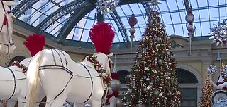 Bellagio unveils new holiday display