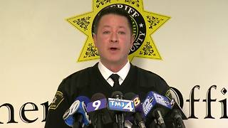 Racine County Sheriff's Office holds news conference with updates on Greyhound Bus incident