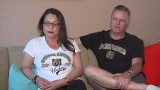 Devoted Golden Knights couple on way to San Jose for Game 7