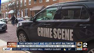 Two women shot, killed in Baltimore home - Video