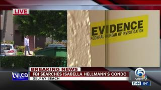 FBI searches home of missing Delray Beach woman Isabella Hellman - Video