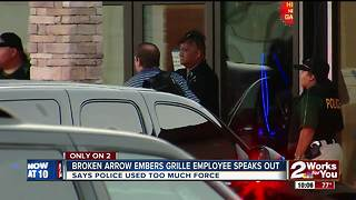 Embers Grille employee speaks out - Video
