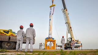 China Joins Commercial Space Race With Private Company's Rocket Launch - Video