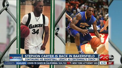 Stephon Carter eager to continue basketball legacy in Bakersfield
