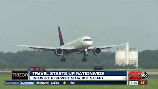 Travel starts up nationwide, industry recovery slow but steady