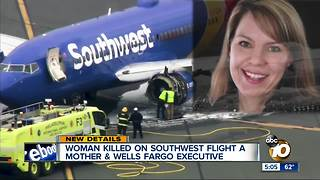 Southwest passenger first U.S. airline fatality since 2009 - Video