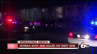 Woman shot, killed at apartment complex on Indianapolis' west side - Video