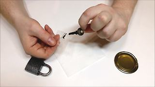 How to make your own emergency spare key - Video