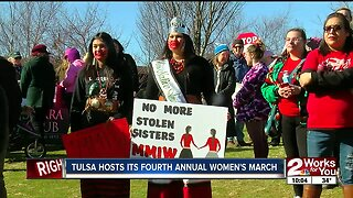 Tulsa Hosts It's Fourth Annual Women's March