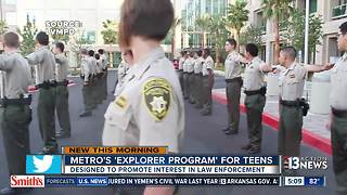Las Vegas police looking for teens for its program - Video