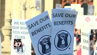 Panel OKs bills aimed at unfunded retiree plans - Video