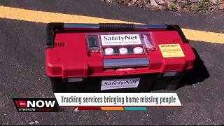 Tracking services bring home missing poeple - Video