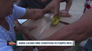 Getting supplies to Puerto Rico proving to be difficult following Hurricane Maria - Video