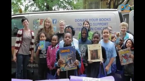 """Non-Profit """"Open Books"""" Promotes Literacy to Chicago Youth"""