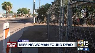 Family speaks out after missing woman found dead in Phoenix - Video