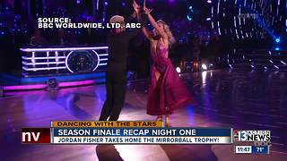 Season 25 of Dancing with the Stars ends - Video