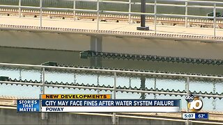 Poway deals with water crisis during storm