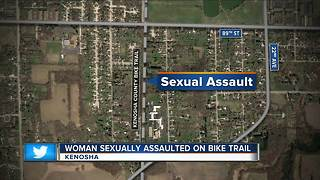 Kenosha County Sheriff looking for bike trail sexual assaulter - Video