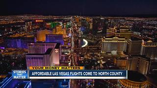 New flights to Las Vegas to start out of Carlsbad - Video