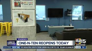 One.n.ten youth center reopens in Phoenix after arson incident - Video