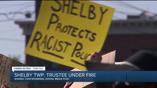 Shelby Township trustee under fire after allegedly sharing racist social media post