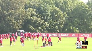 Chiefs buck trend with destination training camp