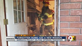 Homefront: Firefighters help to rehab home for veterans