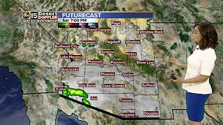 Slight chance of rain this Labor Day Weekend. - Video
