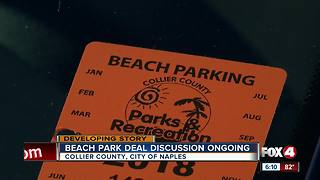 City, county at an impasse over beach parking money - Video