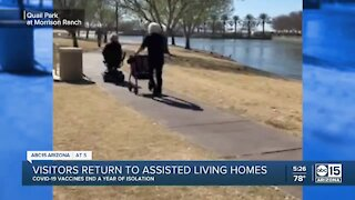 Visitors return to Valley assisted living homes