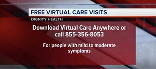 Free, virtual care visits from Dignity Health