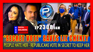 """EP 2308-9AM """"SECRET VOTE"""" To Oust Liz Cheney Saves Her as House GOP Conference Chair"""