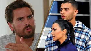 The INFURIATING Moment Scott Disick Learns About Kourtney Kardashian's New Boyfriend Younes Bendjima - Video