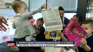 ABC Action News donating thousands of books to preschool kids - Video
