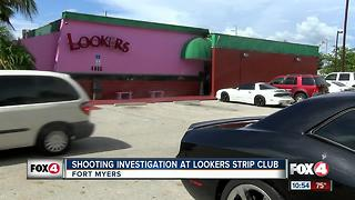 Shooting Investigation at Lookers Strip Club - Video