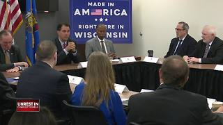 Wisconsin GOP reaction to Trump shared-blame comments mixed - Video