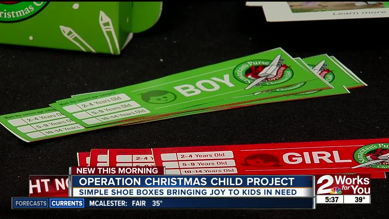 Operation Christmas child project