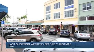 Shoppers support small businesses during last shopping weekend before Christmas