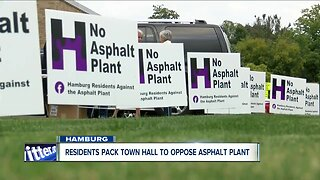 People in Hamburg pack town hall, continued opposition to an asphalt plant