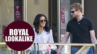 'Harry and Meghan' spotted Christmas shopping in Wilko - Video